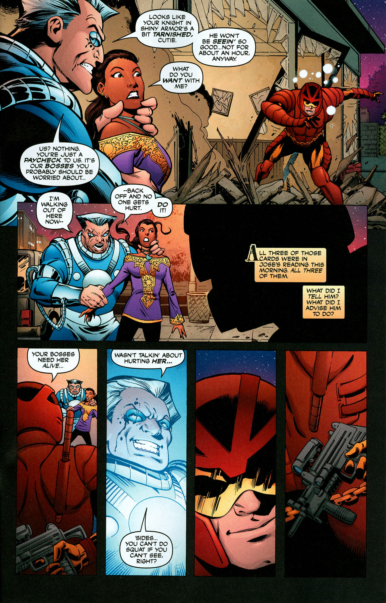 Read online Trinity (2008) comic -  Issue #5 - 30