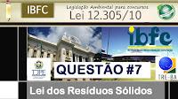 Lei 12.305/10 - Questão IBFC