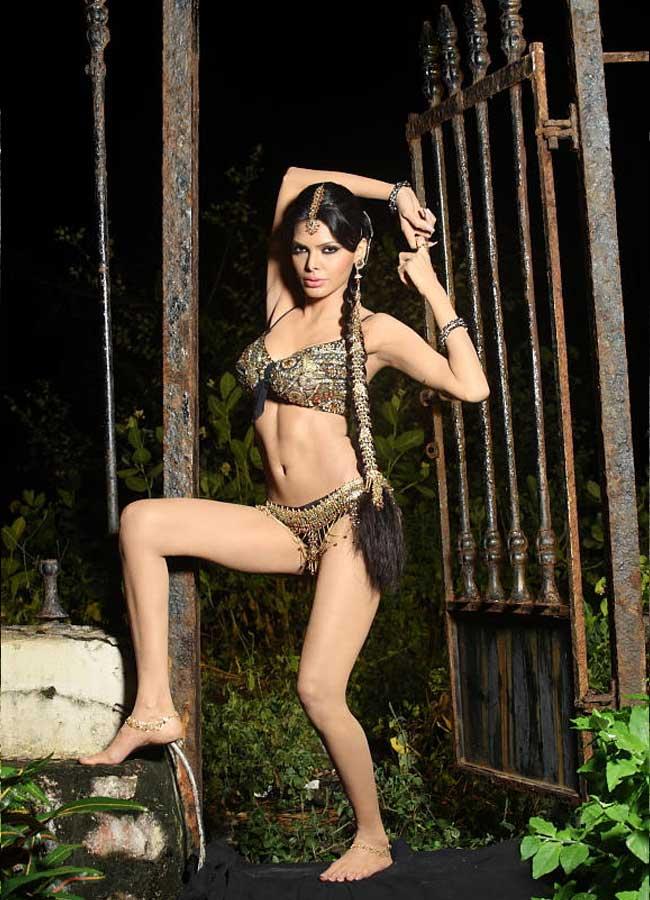 Bikini Sherlyn Chopra Naked Photoshoot HD
