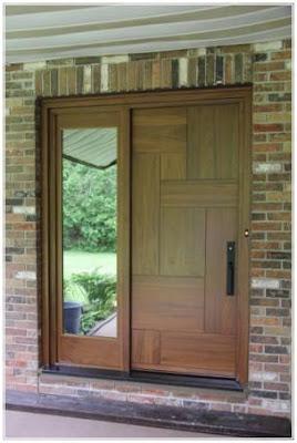 bentuk pintu minimalis utama