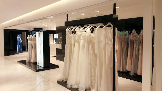 Loja de vestidos Rosa Clará em Paris