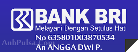 Rekening Bank Deposit BRI ANB Pulsa Elektrik Online Termurah Saat Ini