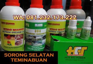 Jual SOC HCS, KINGMASTER, BIOPOWER Siap Kirim Sorong Selatan Teminabuan