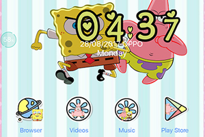 Oppo F3 Theme Spongebob Theme