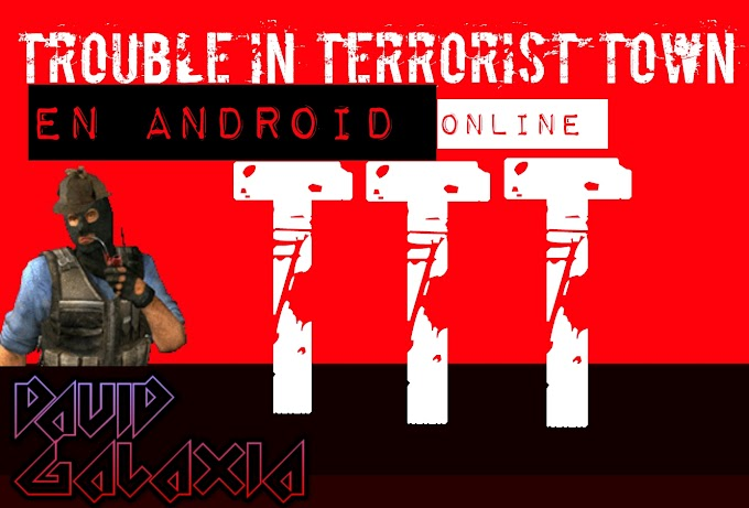 Trouble in Terrorist Town. TTT para Android. (Online)