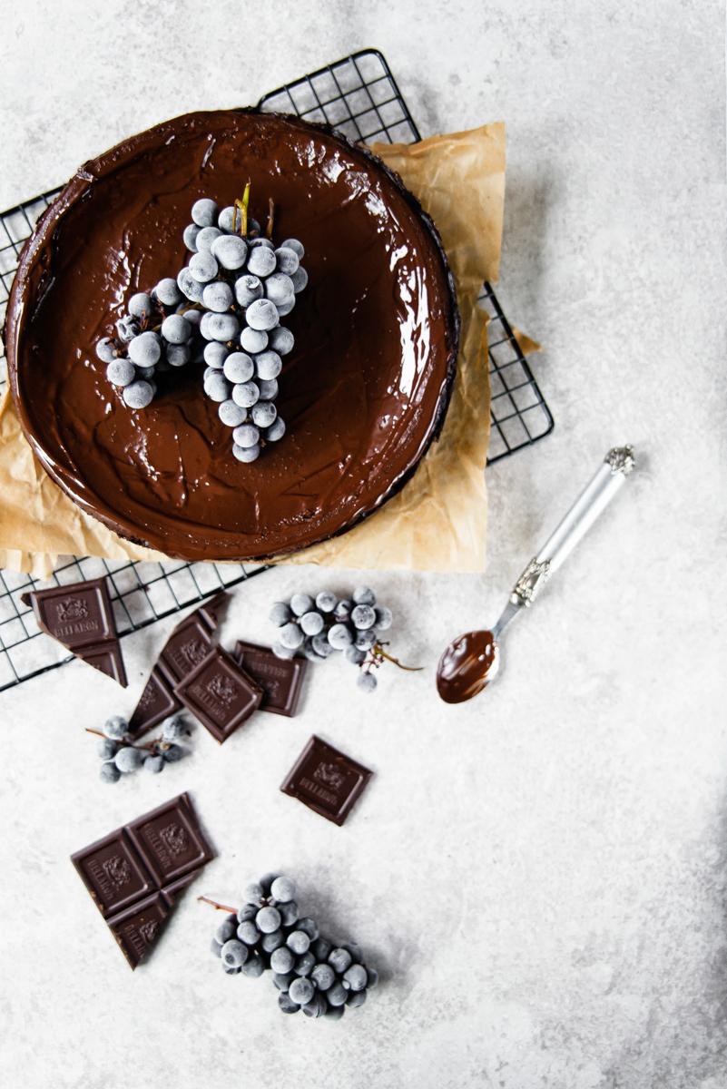 Ciasto na święta: sernik czekoladowy