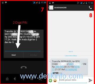 notifikasi sms banking berhasil