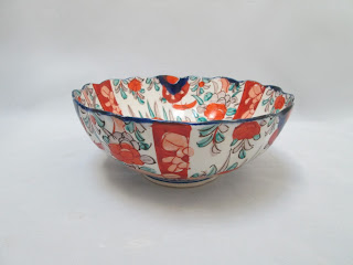 4284 Imari Bowl side view-price $65.00 USD