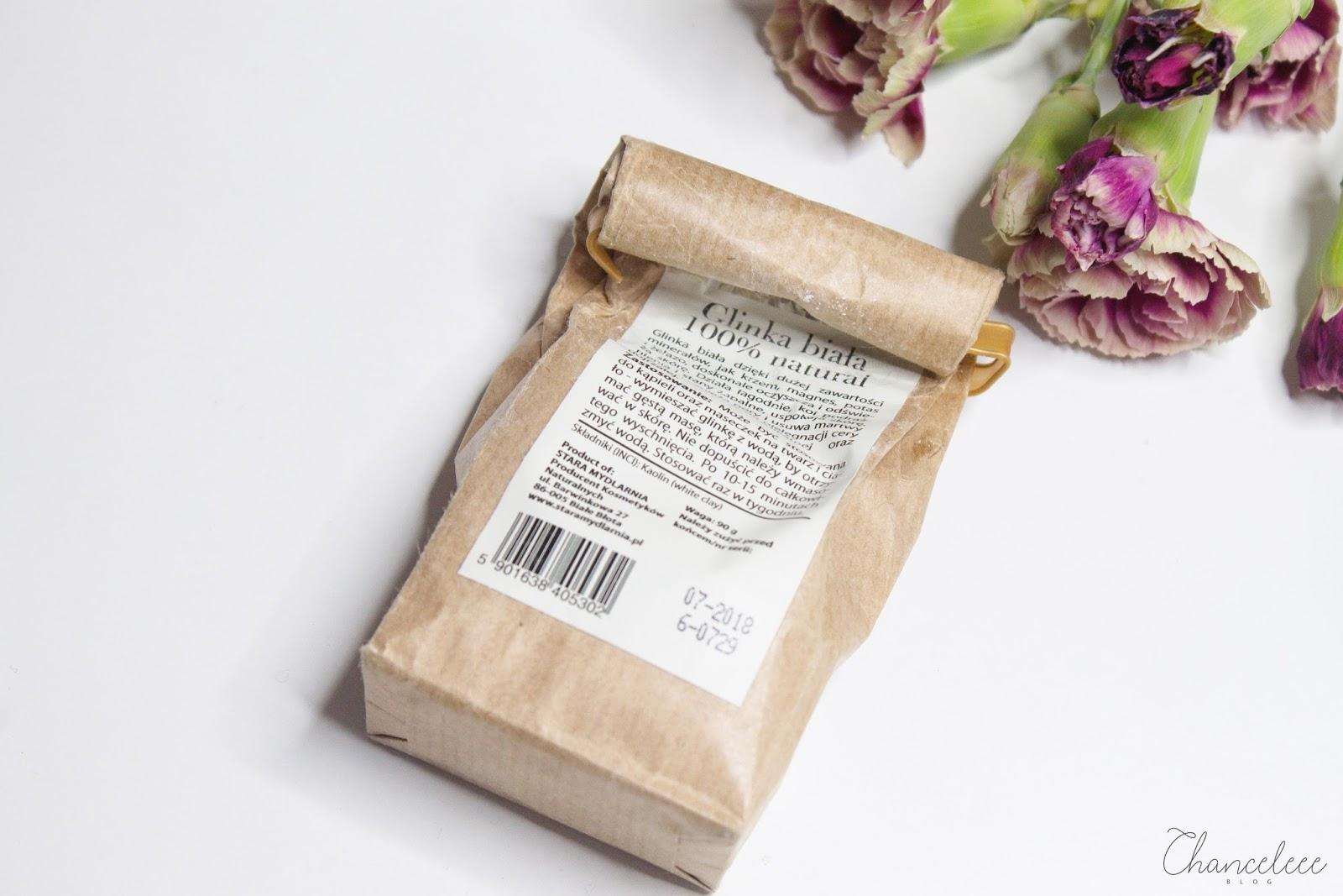 Stara Mydlarnia glinka biała 100% naturalna