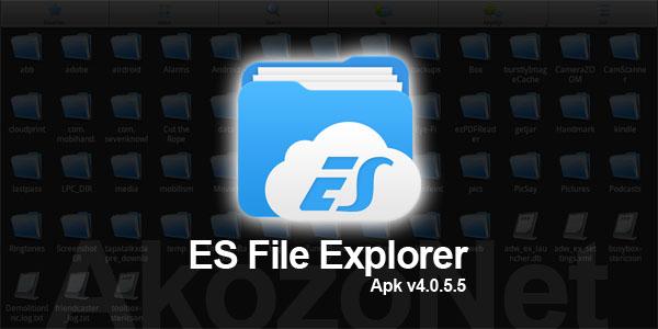 Download ES File Explorer 4.0.5.5 APK Gratis Update Terbaru