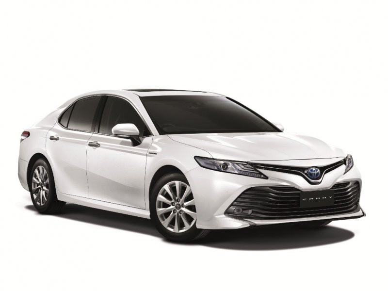 All New Toyota Camry Thailand Agya Trd 2019 2018 Ms Blog The Has Been Launched In Where It Is Available A Choice Of Four Variants 2 0g At 5g 5 Hv And Premium
