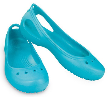Women S Crocs Black Neoprene Fabric Slip On Loafers Shoes