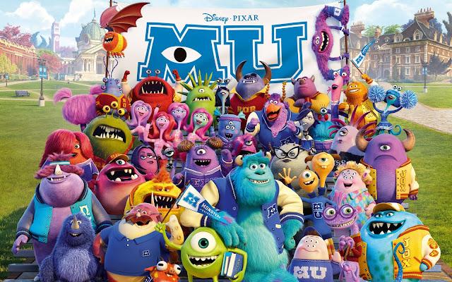 Monstruos University - DVDRip - Latino - Portada