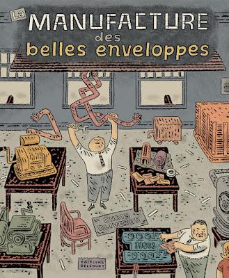 couverture de La Manufacture des Belles Enveloppes de Chris Oliveros