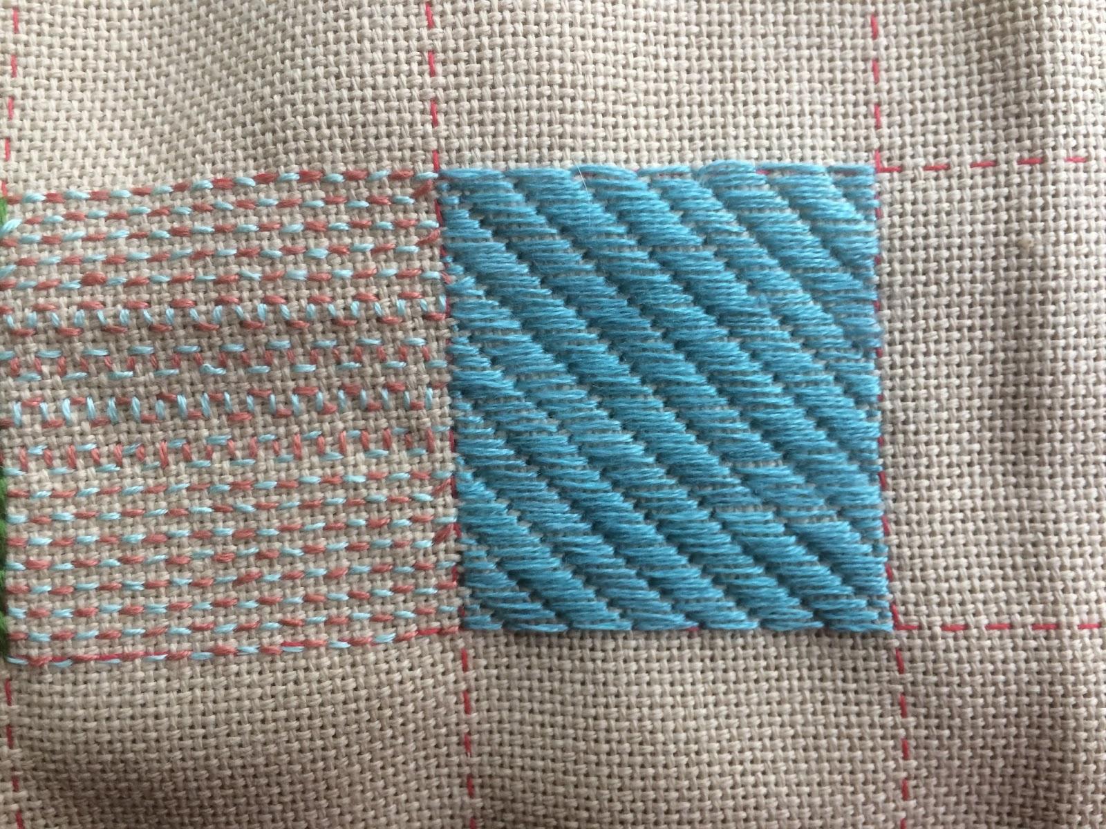 Queenie S Needlework Friday Homework For Lesson 34