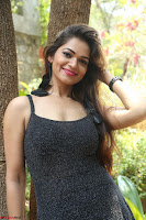 Aswini in lovely Deep Neck Sleeveless Black Dress Spicy Pics ~  Exclusive 27.JPG