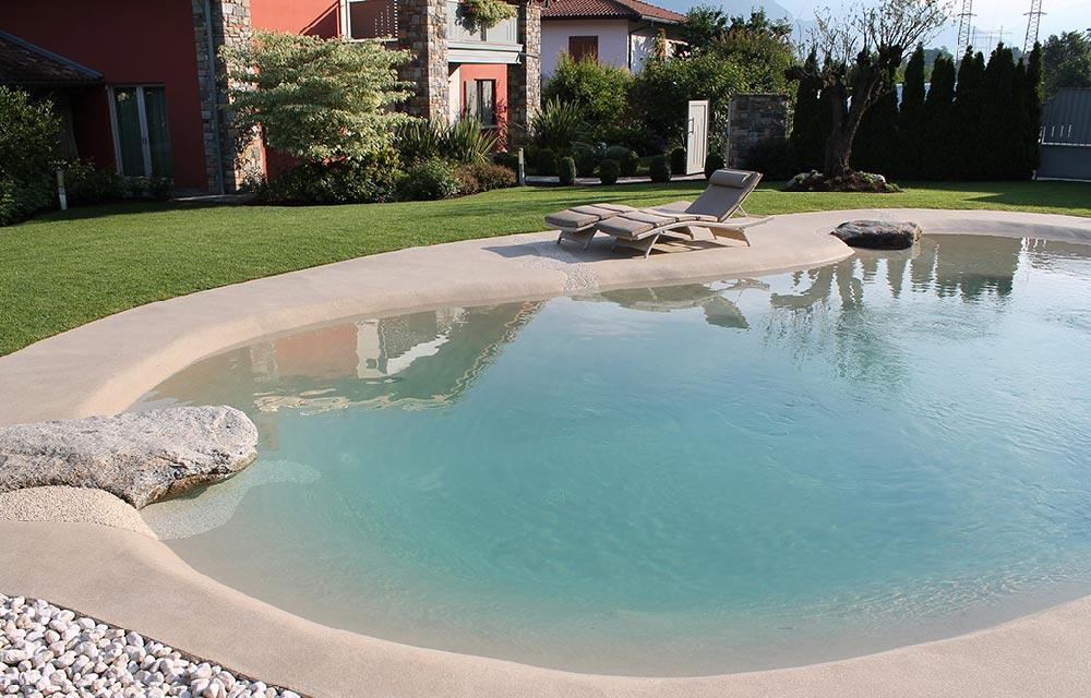 piscina in pietra naturale Acqua Tecnica