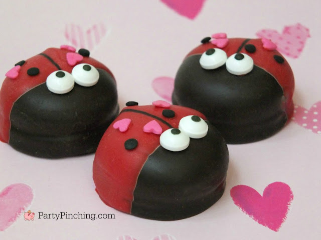 Lady Bug treats for your Valentine's party