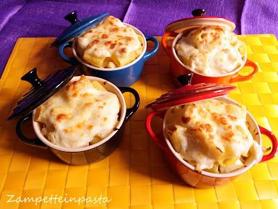 Pasta al forno bianca con cavolfiore e besciamella