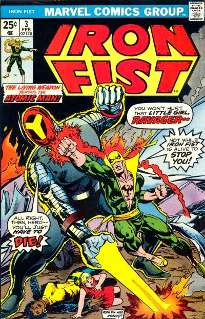 Iron Fist #3, The Ravager