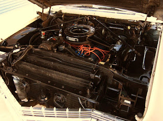 1966 Cadillac Coupe DeVille Engine