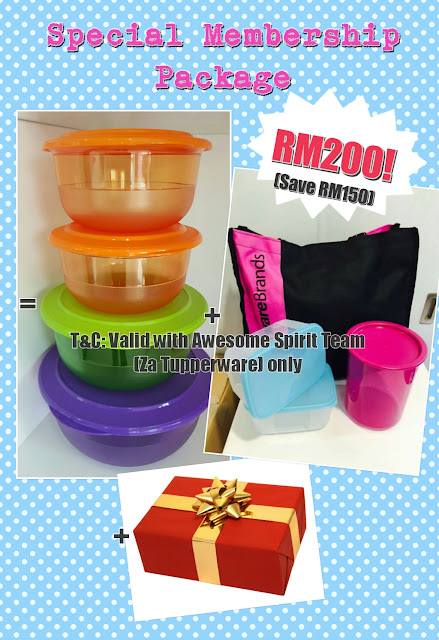 Tupperware Special Membership Package