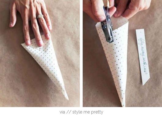 cone+2 - Como fazer cone para arroz/ pétalas
