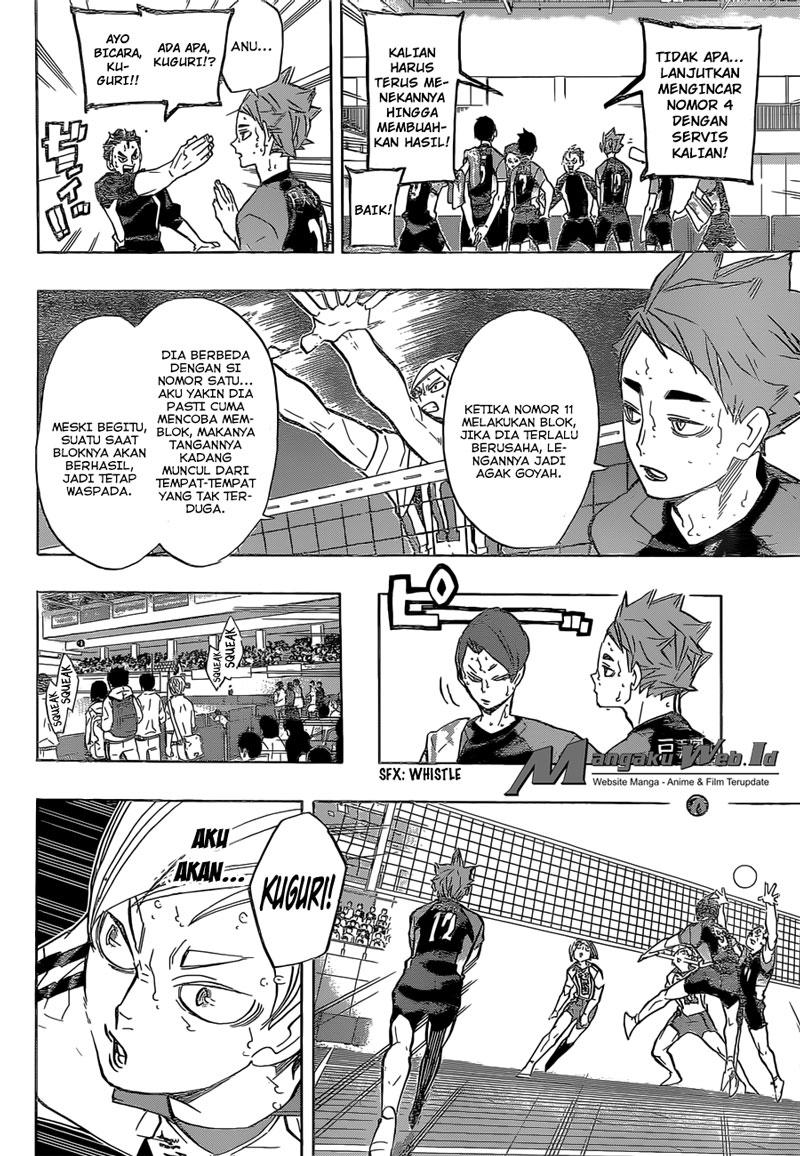 Haikyuu Chapter 203-4