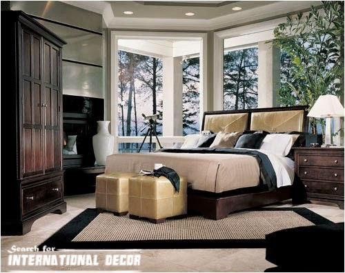 American interior design, American style,American houses, American bedroom
