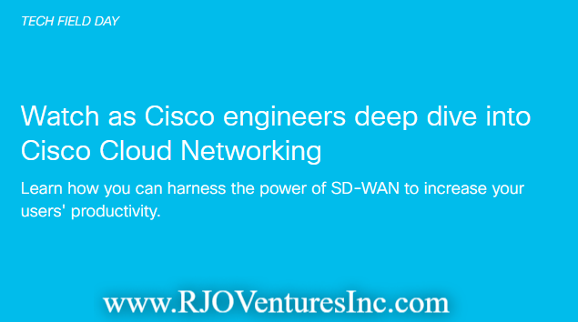 Cisco Engineers Deep Dive into Cisco Cloud Networking