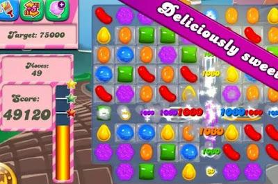 Candy crush saga  level image