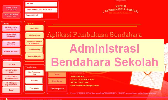 Administrasi Bendahara Sekolah