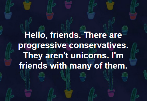 POLITICS: Progressive Conservatives