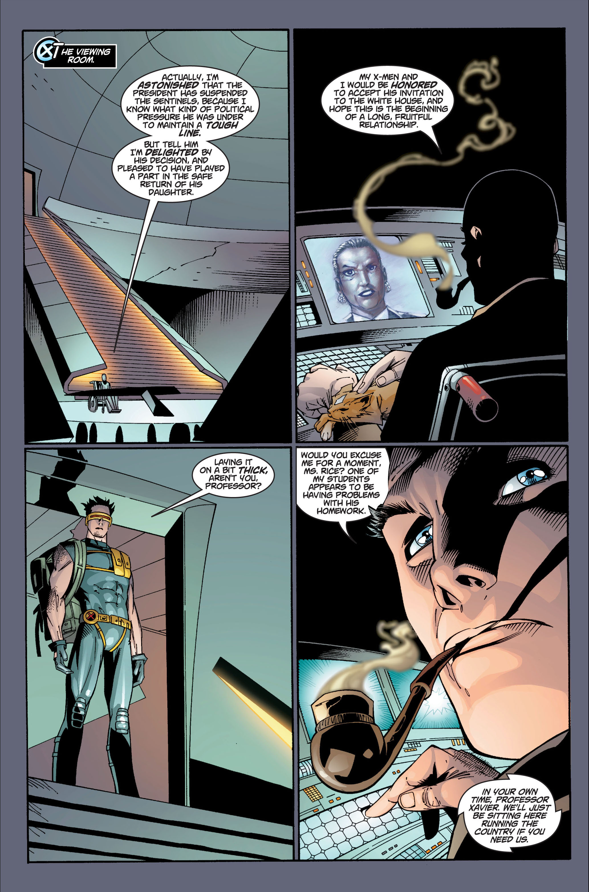 Read online Ultimate X-Men comic -  Issue #4 - 15