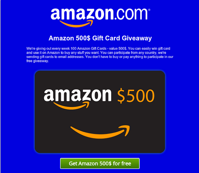 Get Free $500 Amazon Gift Cards NOW