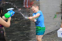 Guerra de agua de las fiestas de Desierto