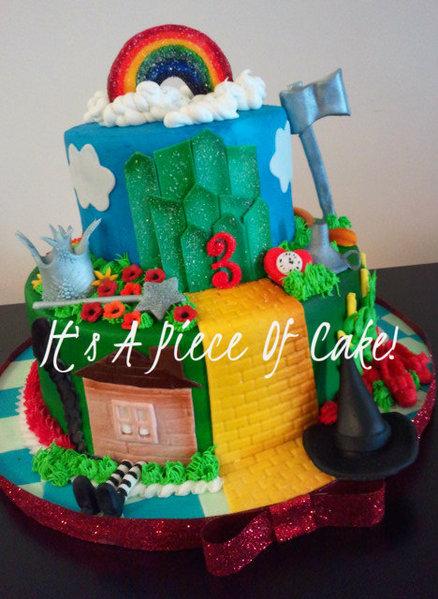 Astonishing Diy Party Mom 10 Wizard Of Oz Birthday Cakes Birthday Cards Printable Riciscafe Filternl