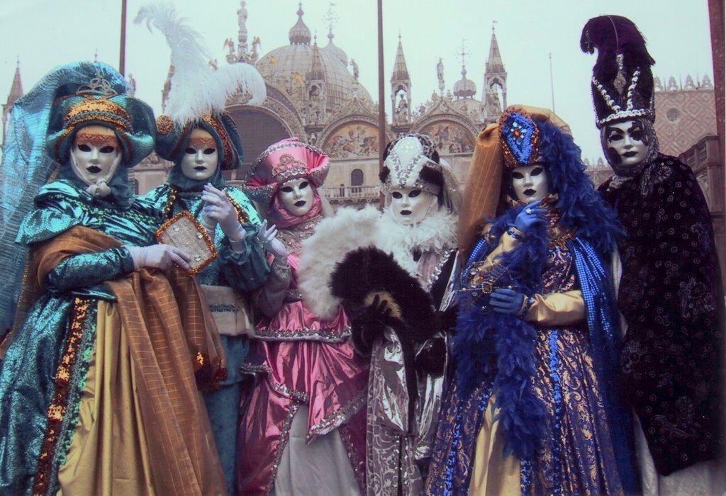 Travel Carnival Festival of Venice in Italy