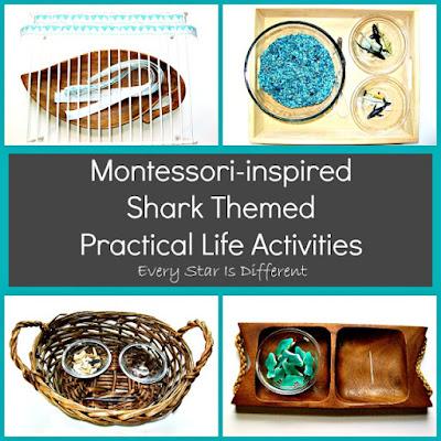 Shark Practical Life Activities