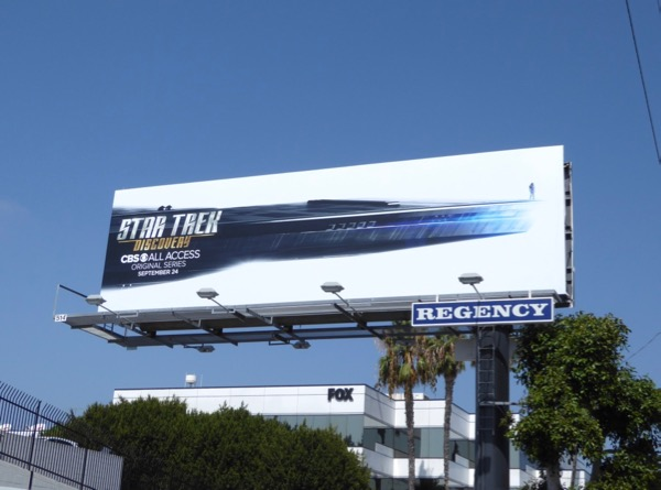 Star Trek Discovery season 1 billboard
