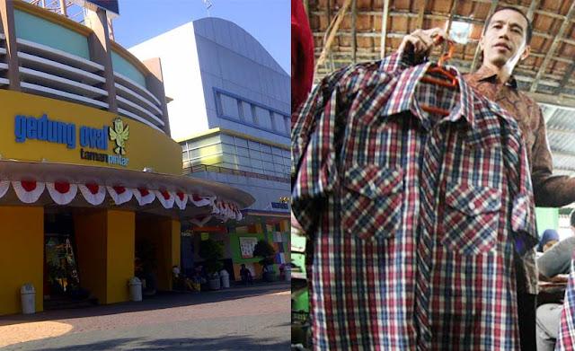 Baju Kotak Kotak Jokowi Akan Masuk di Taman Pintar Yogyakarta