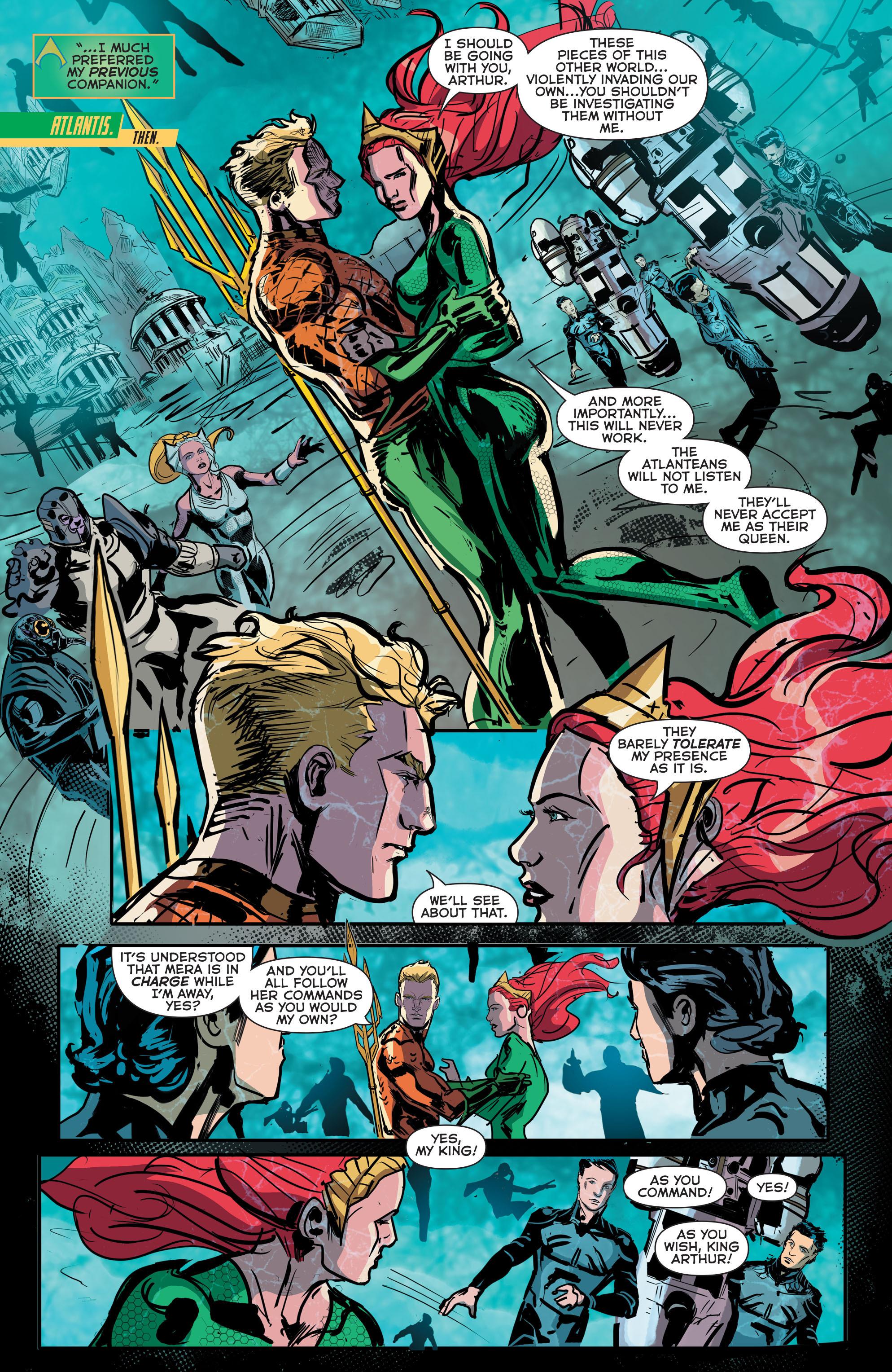 Read online Aquaman (2011) comic -  Issue #42 - 6
