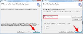 Cara Yang mudah flash xiaomi redmi 4x via MiFlash Tools