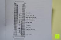 Bedienung: R4mpage RP-1100 Bluetooth Lautsprecher 10Watt mit LED Farbwechselmodus, und Mikrofon für Freisprechfunktion