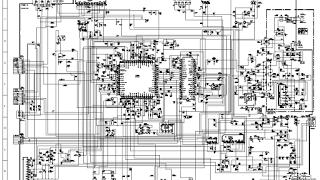 Skema TV SHARP schematic main board 20XMKII, 51XMKII (GA-4)
