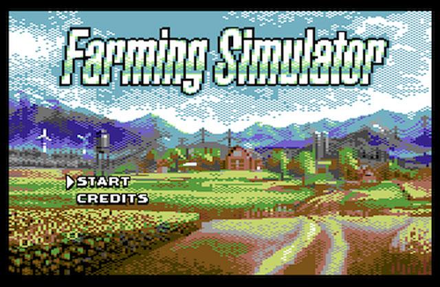* COMMODORE C64 * LA ROLLS DES 8BIT ? - Page 6 FarmingSim