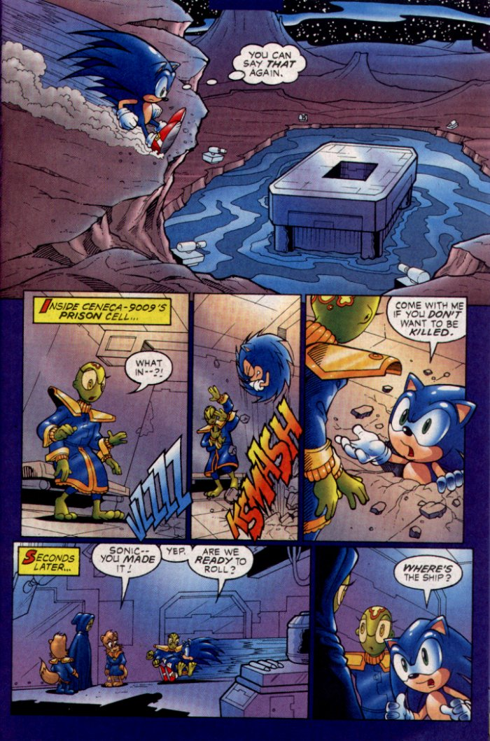 Read online Sonic The Hedgehog comic -  Issue #129 - 21