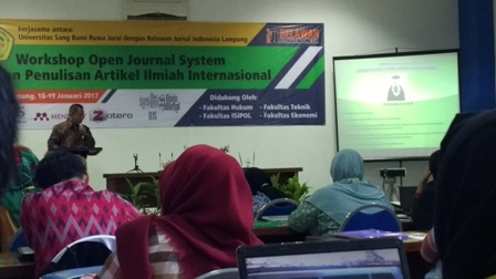 Workshop Open Jurnal Sistem