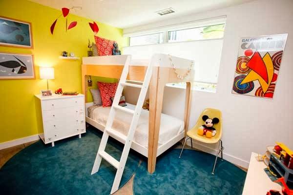 cuarto con litera niños