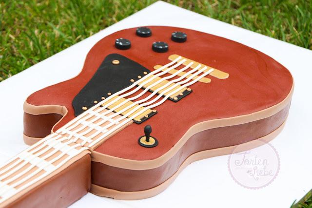 Tortenliebe .... mein süßes Hobby: E-Gitarre